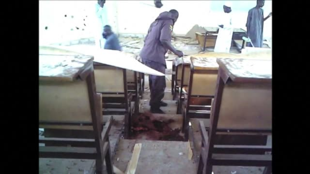 boko haram insurgents have been blamed after at least 13 people died during a shoot-out between police and suspected suicide bombers at a teacher... - nigeria stock videos & royalty-free footage