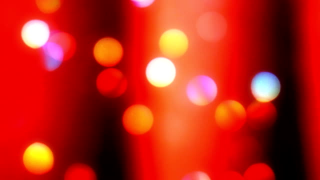 bold red christmas light bokeh background - repetition stock videos & royalty-free footage