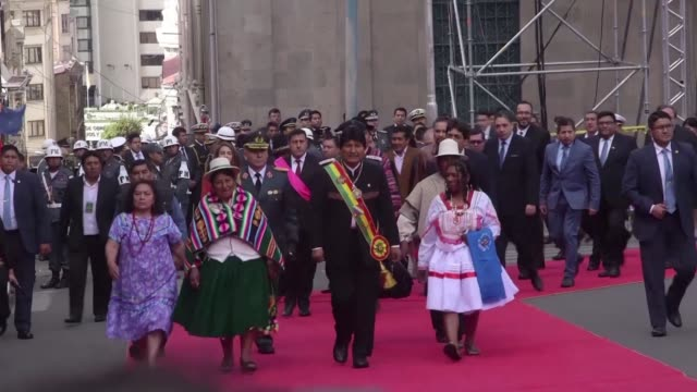 Bolivia celebrates Plurinational State Day in honor of the the country officially becoming a plurinational state on the 13th anniversary of Evo...