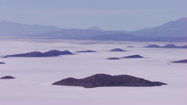 bolivia : desert of salar - bolivien stock-videos und b-roll-filmmaterial