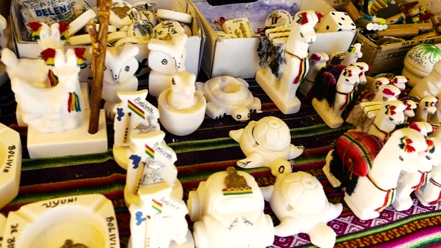 bolivia market trinkets - witch stock videos & royalty-free footage