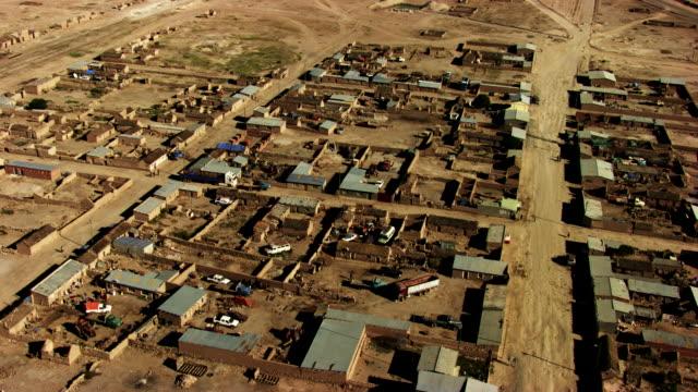 bolivia: part of uyuni's city - bolivia stock videos & royalty-free footage