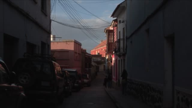 bolivia, potosi - street view - bolivia stock videos & royalty-free footage