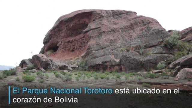 Bolivia quiere convertir su Parque Nacional Torotoro ubicado en el corazon del pais en el quinto geoparque de America declarado por Unesco