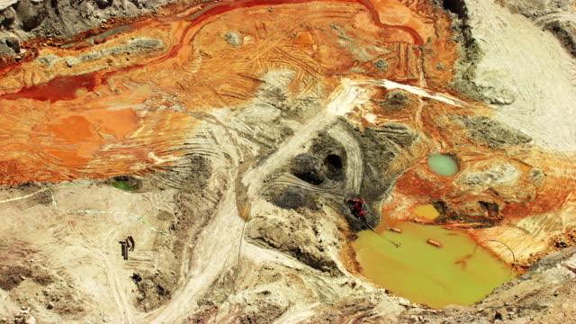 bolivia: zinc and silver mines - argentato video stock e b–roll