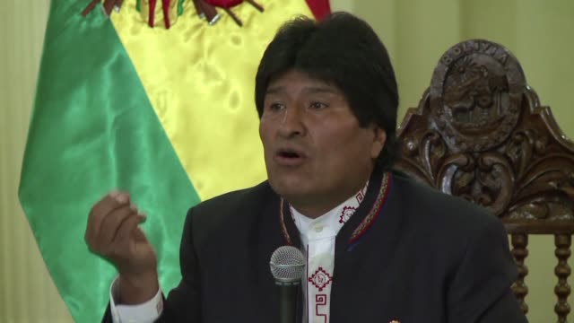 bolivias president evo morales reluctantly conceded defeat wednesday in a weekend referendum aimed at delivering him a fourth term his first direct... - evo morales stock videos & royalty-free footage