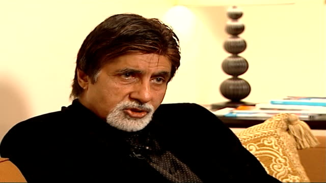 Bollywood star Amitabh Bachchan interview Talks about the appeal of Bollywood films in the UK food politics / Everything to do with India is becoming...
