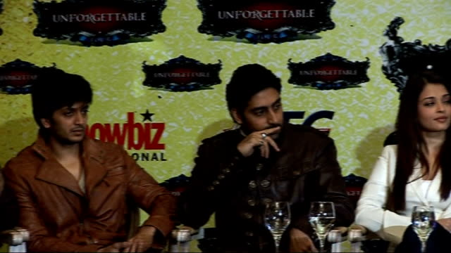 Bollywood 'Unforgettable Tour' Photocall and press conference Viraf Sarkari introduces press conference and thanks people for coming as PAN across...