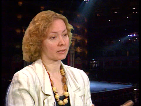 visit to london cms debra craine intvw sof from what i saw of programme at bolshoi in moscow artistically this is a dubious enterprise/ very... - bolshoi ballet company stock videos and b-roll footage