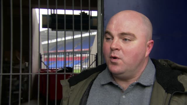 bolton wanderers remain on strike over unpaid wages england greater manchester bolton university of bolton stadium marc iles interview sot general... - bolton greater manchester stock videos and b-roll footage