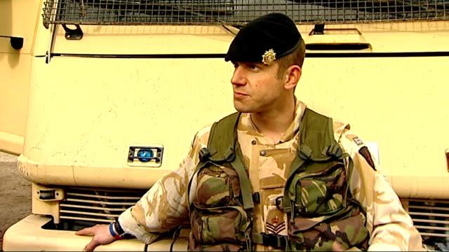 bomb disposal teams; staff sergeant olaf schmid interview sot major eldon millar interview sot - sergeant stock videos & royalty-free footage