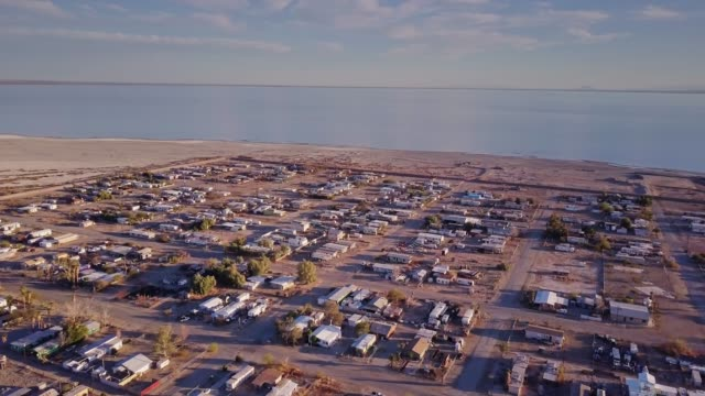 bombay beach, california - san andreas fault stock videos & royalty-free footage