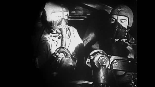 vídeos y material grabado en eventos de stock de bombing germany - r.a.f.