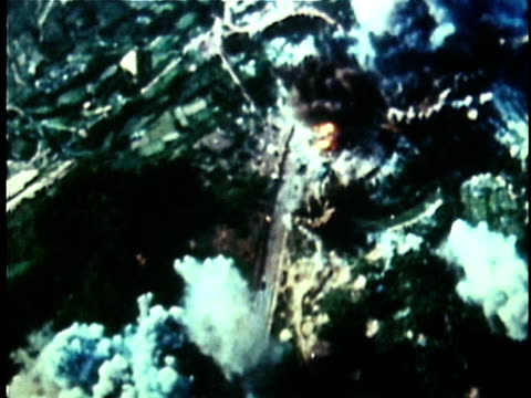 Bombing of North Vietnamese countryside during the Vietnam War / North Vietnam