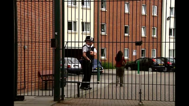 4 arrested including widow of ringleader birmingham selly oak university of birmingham victoria hall police outside student hall of residence... - widow stock videos & royalty-free footage