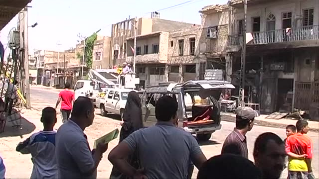 bombings mainly targeting shiite majority areas of baghdad killed at least 23 people thursday officials said a day after iraqi prime minister nuri al... - shi'ite islam stock videos & royalty-free footage