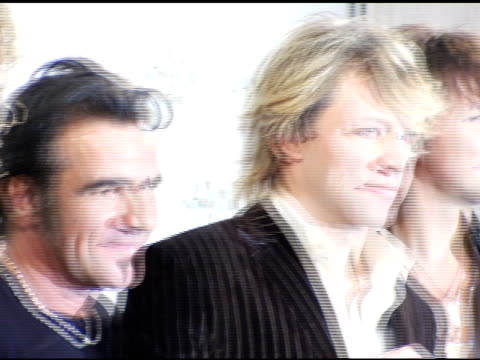 Bon Jovi recipients of the Award of Merit at the 2004 American Music Awards press room at the Shrine Auditorium in Los Angeles California on November...