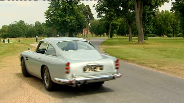Bond car to be auctioned Aston Martin driven along