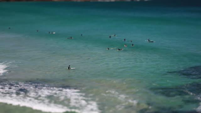 Bondi beach HD video tilt shift, Sydney