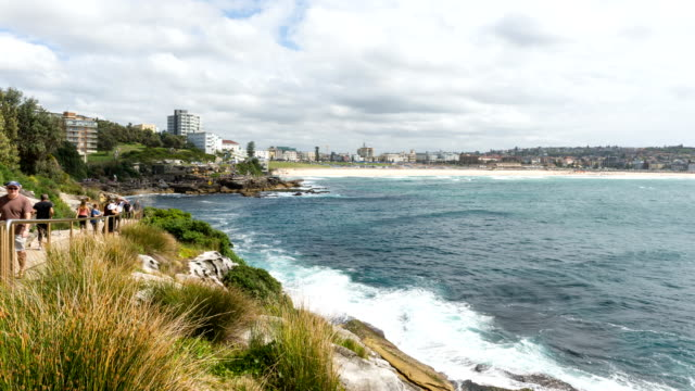 Bondi Beach in Timelapse, Sydney Australia