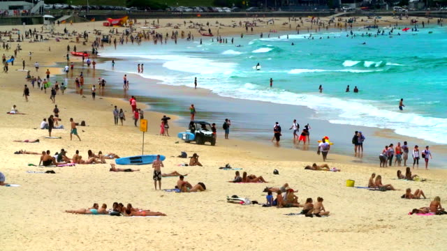 bondi beach, sydney australia - australia stock videos & royalty-free footage