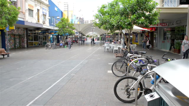 bondi junction shopping street - focus on background stock videos & royalty-free footage