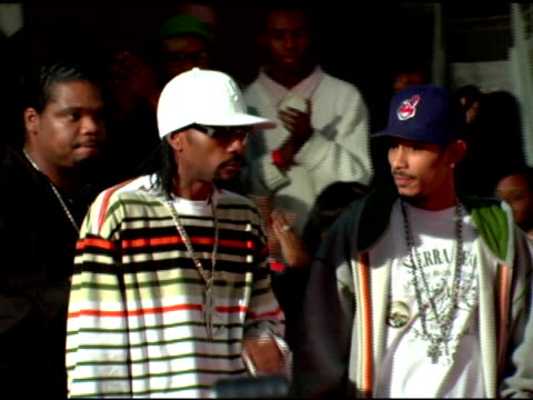 bone thugs-n-harmony at the 2006 vh1 hip hop honors at the hammerstein ballroom in new york, new york on october 7, 2006. - bone thugs n harmony stock videos & royalty-free footage