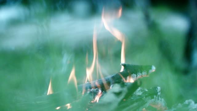 bonfire close up - conceptual symbol stock videos and b-roll footage