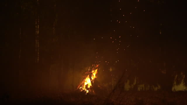 bonfire closeup - evil stock videos and b-roll footage