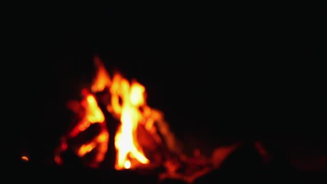 Bonfire, Rishikesh, Uttarakhand, India