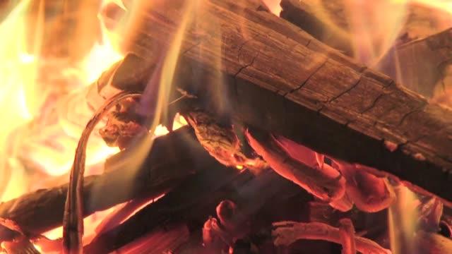 bonfire - bonfire stock videos & royalty-free footage