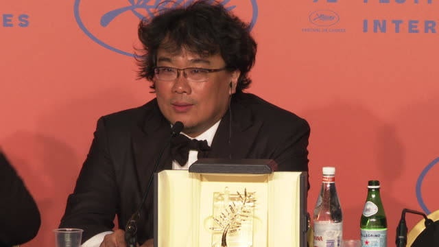 Bong Joonho at Closing Ceremony Press Conference ' The 72nd Cannes Film Festival on May 25 2019 in Cannes France