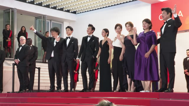 FRA: 'Parasite (Gisaengchung)' Red Carpet Arrivals - The 72nd Cannes Film Festival