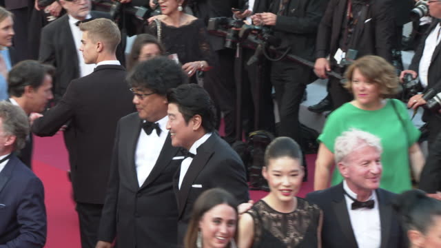 Bong JoonHo Song Kangho at 'Closing Ceremony ' The 72nd Cannes Film Festiva on May 25 2019 in Cannes France