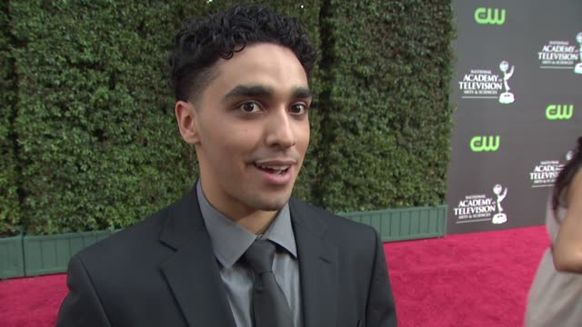 vidéos et rushes de bonilla on his nomination, guiding light. at the 36th annual daytime emmy awards at los angeles ca. - nominations aux emmy awards