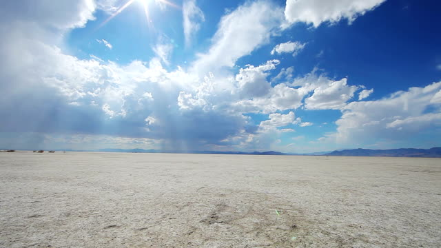 bonnevile salt flats landscape - salt flat stock videos & royalty-free footage