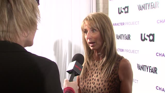 Bonnie Hammer at the USA Network and Vanity Fair Celebrate Launch of Character Project at New York NY
