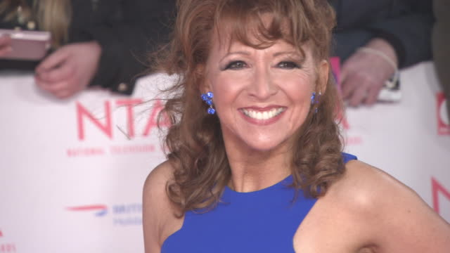 Bonnie Langford at National Television Awards at The O2 Arena on January 23 2018 in London England