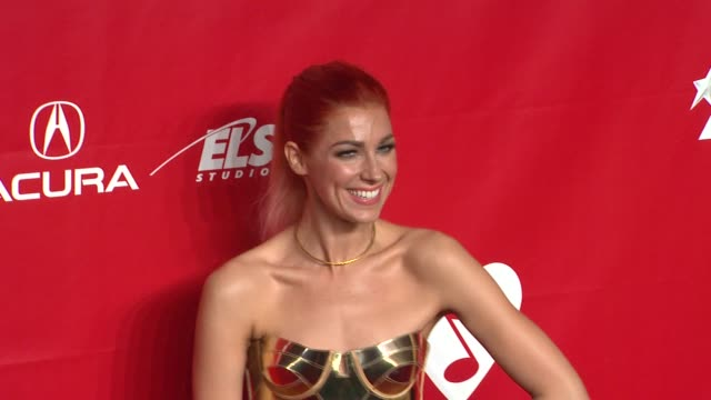 bonnie mckee at 2014 musicares person of the year honoring carole king at los angeles convention center on in los angeles california - musicares foundation stock videos & royalty-free footage