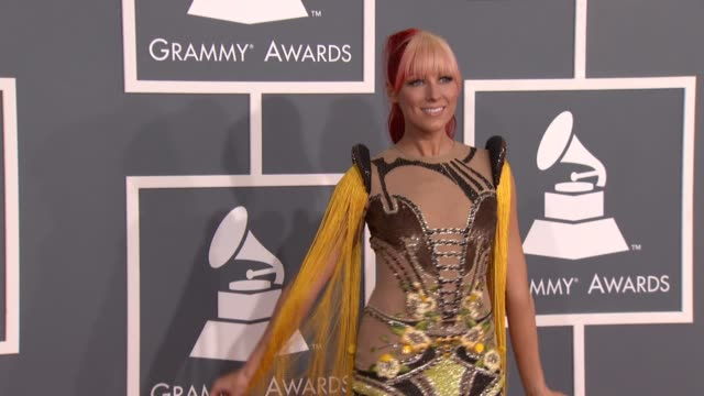 Bonnie Mckee at 54th Annual GRAMMY Awards Arrivals on 2/12/12 in Los Angeles CA
