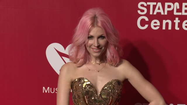 Bonnie McKee at the 2016 MusiCares Person of The Year Honoring Lionel Richie at Los Angeles Convention Center on February 13 2016 in Los Angeles...