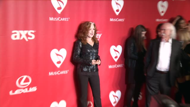 Bonnie Raitt at 2015 MusiCares Person Of The Year Gala Honoring Bob Dylan at Los Angeles Convention Center on February 06 2015 in Los Angeles...