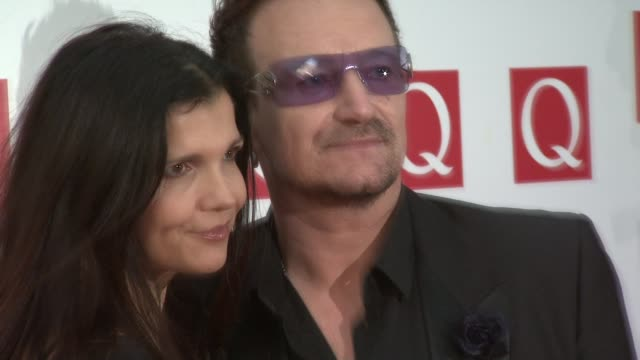 Bono Alison Hewson at the The Q Awards 2011 at London England