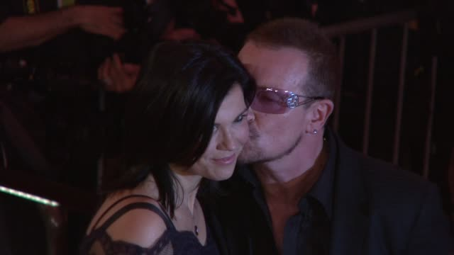 Bono and Ali Hewson at the 'The Model as Muse Embodying Fashion' Costume Institute Gala at The Metropolitan Museum of Art Arrivals at New York NY