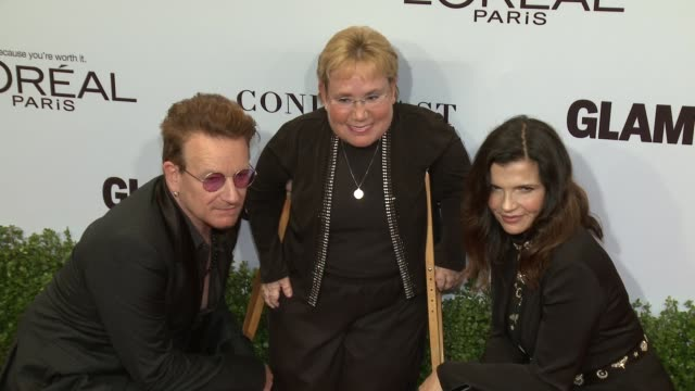 Bono at Glamour's 2016 Women of the Year at NeueHouse Hollywood on November 14 2016 in Los Angeles California