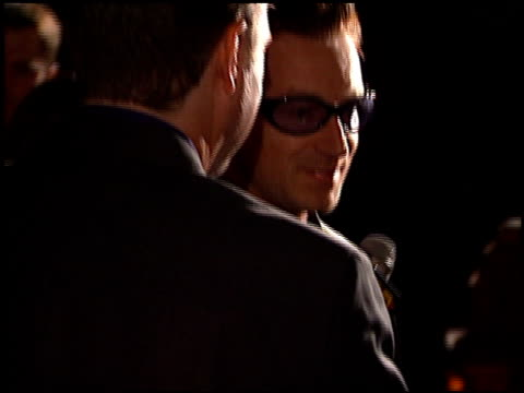 Bono at the 1999 Grammy Awards Arista Party at the Shrine Auditorium in Los Angeles California on February 24 1999
