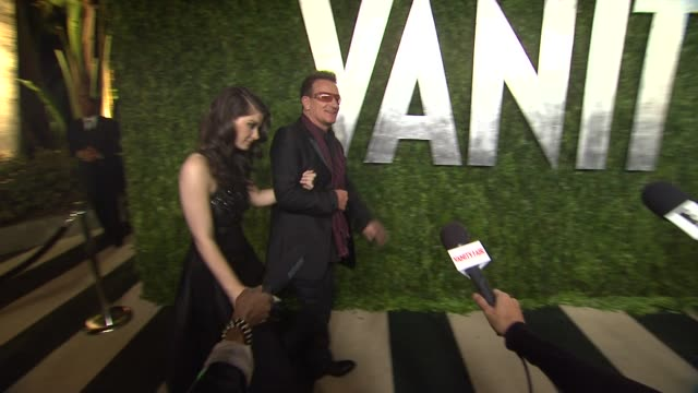 Bono at The 2013 Vanity Fair Oscar Party Hosted By Graydon Carter Bono at The 2013 Vanity Fair Oscar Party Hosted By at Sunset Tower on February 24...