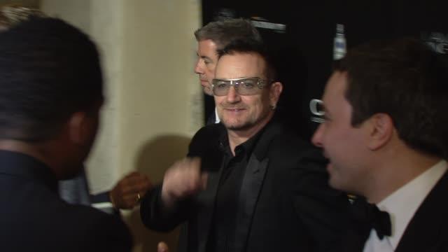 Bono at the Ciroc Vodka Presents Sean 'Diddy' Combs' Birthday Celebration at New York NY