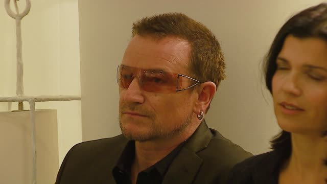 Bono at the Launch of New ONE TShirt by EDUN at Nordstroms @ The Grove in Los Angeles California on September 17 2006