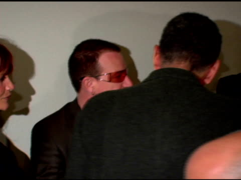 Bono at the 'Volver' NYFF Premiere arrivals at Alice Tully Hall at Lincoln Center in New York New York on October 7 2006